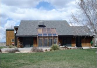 casa de energia solar pasiva
