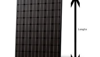 Medidas de paneles solares