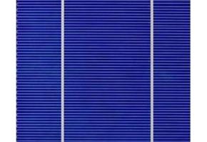 Célula solar policristalina